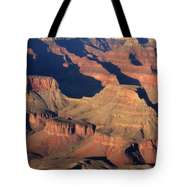Grand Canyon Light  Tote Bag by Aidan Moran