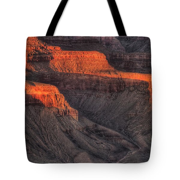 Grand Canyon Light Tote Bag by Steve Gadomski