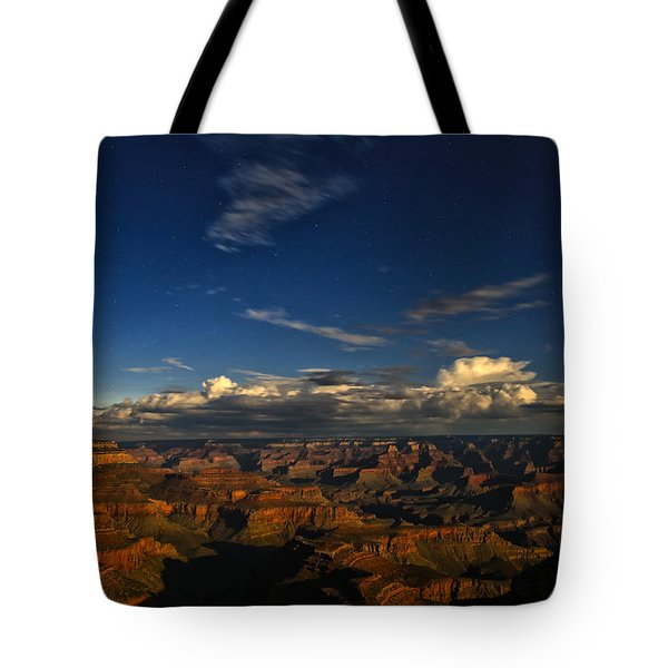 Grand Canyon Moonlight Tote Bag by James Menzies