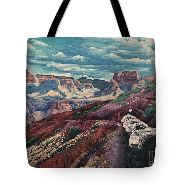 Grand Canyon Mule Skinners Tote Bag