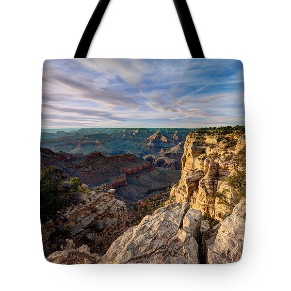 Grand Canyon National Park Spring Sunset Tote Bag