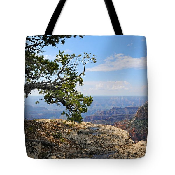Grand Canyon North Rim Craggy Cliffs Tote Bag
