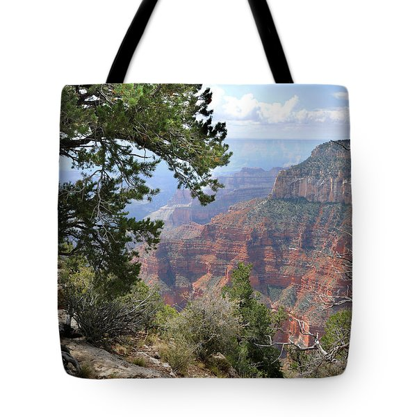 Grand Canyon North Rim - Through The Trees Tote Bag