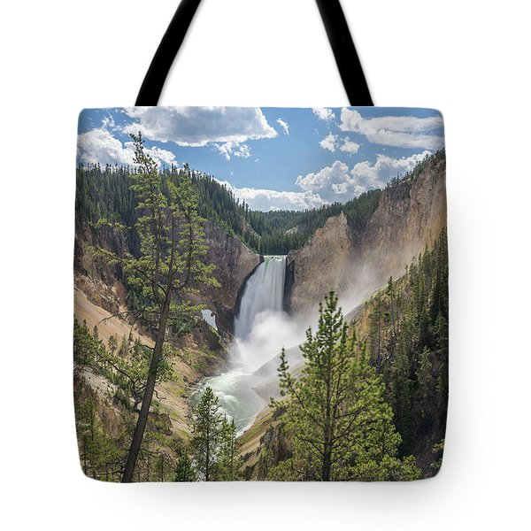 Grand Canyon Of Yellowstone Tote Bag