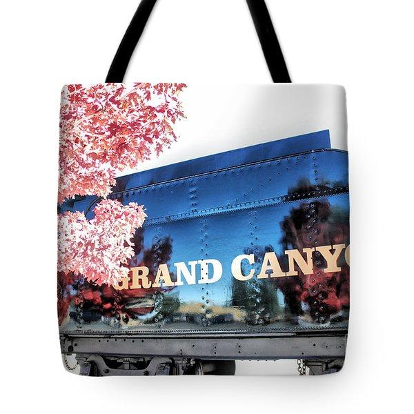 Grand Canyon Railroad Tote Bag