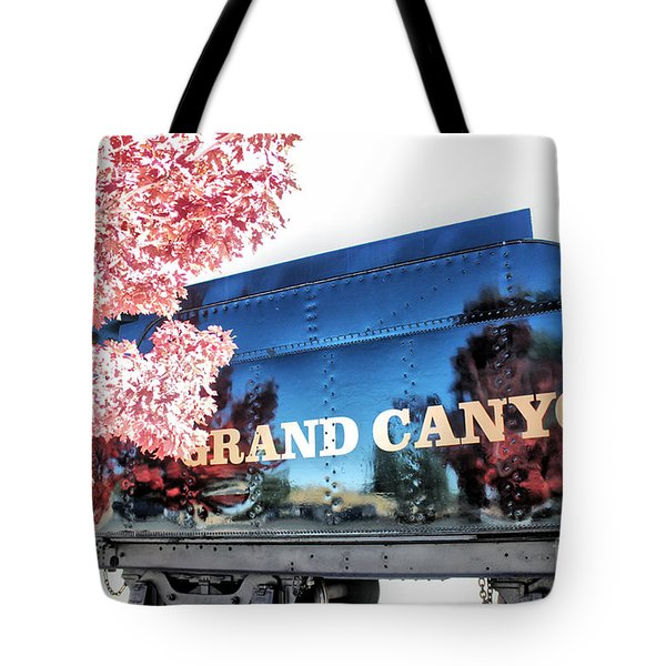 Tote Bag featuring the photograph Grand Canyon Railroad by Beauty For God