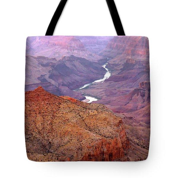 Grand Canyon River View Tote Bag