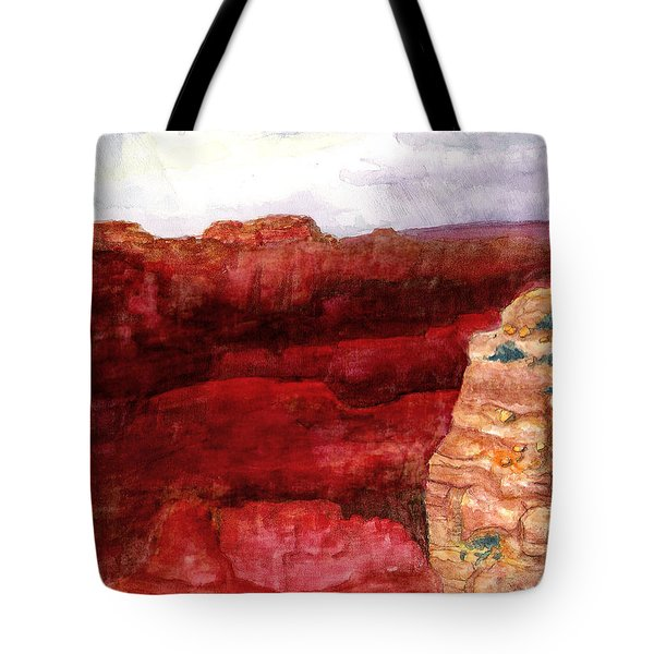 Grand Canyon S Rim Tote Bag