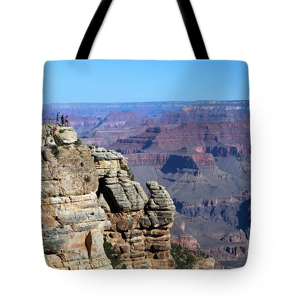Tote Bag featuring the photograph Grand Canyon South Rim by Steven Frame