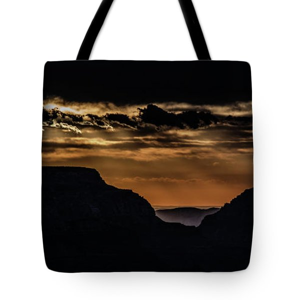 Tote Bag featuring the photograph Grand Canyon Sunset by Phil Abrams