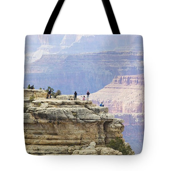 Tote Bag featuring the photograph Grand Canyon Vista by Chris Dutton
