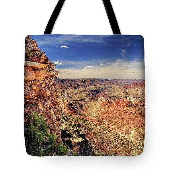 Grand Canyon Wall Tote Bag