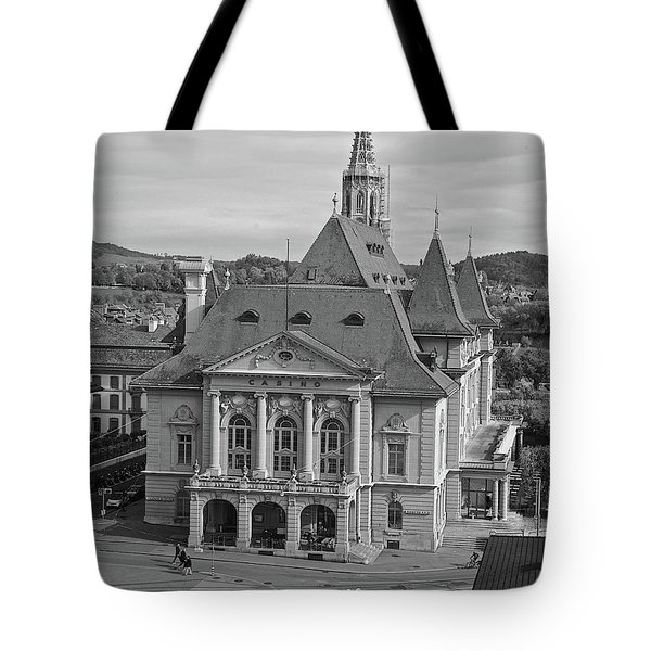 Grand Casino Bern Tote Bag