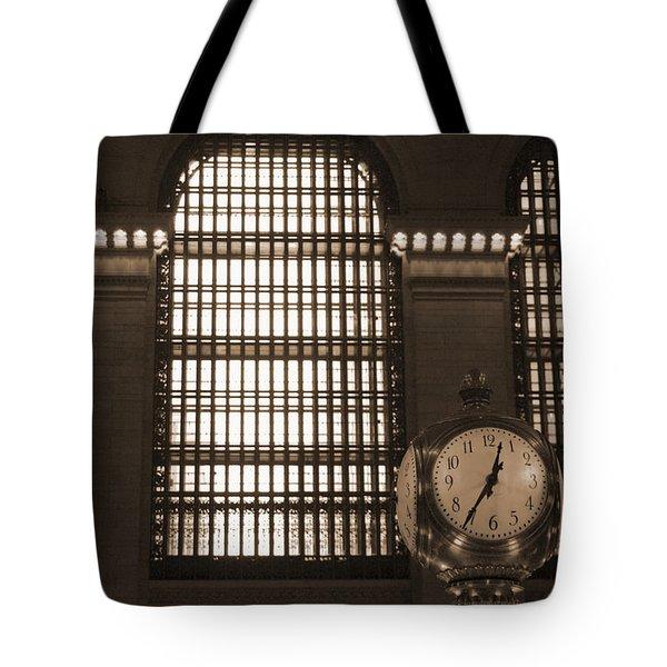 Grand Central Station Tote Bag by Henri Irizarri