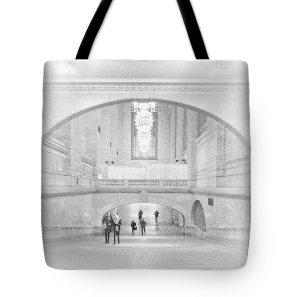 Tote Bag featuring the photograph Grand Central Station by Lora Lee Chapman