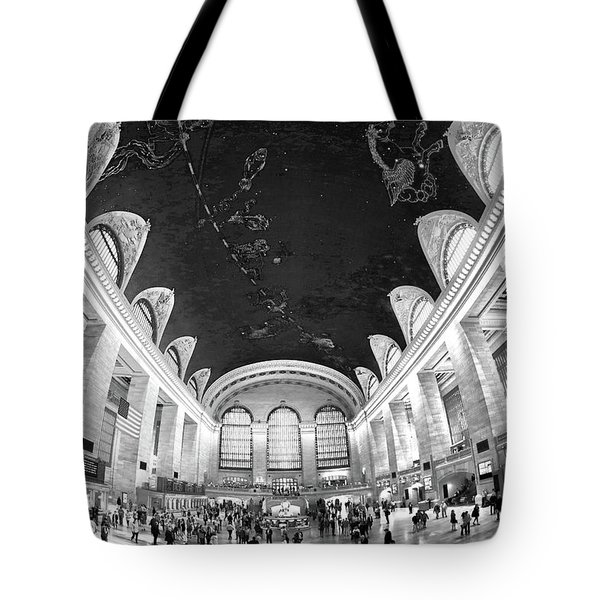 Tote Bag featuring the photograph Grand Central Station by Mitch Cat