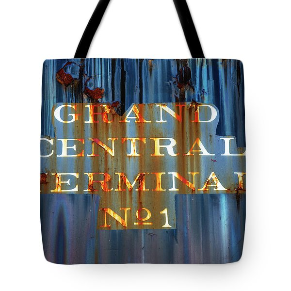 Tote Bag featuring the photograph Grand Central Terminal No 1 by Karol Livote