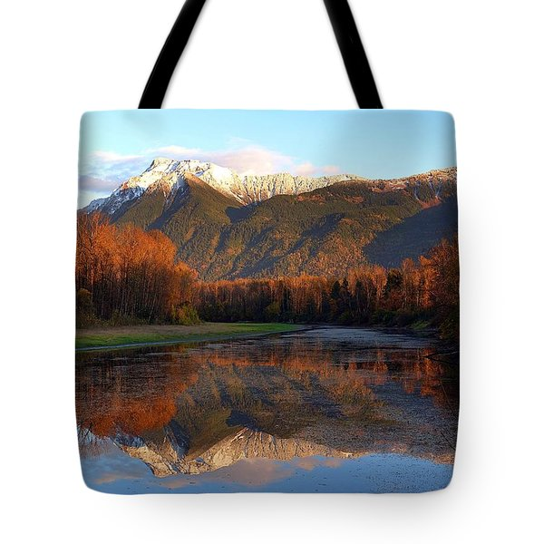 Mount Cheam, British Columbia Tote Bag