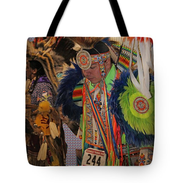 Grand Entry-3 Tote Bag by Audrey Robillard