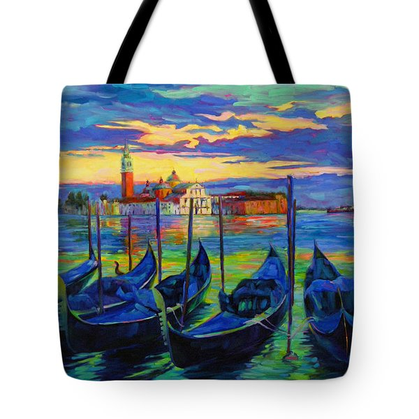 Grand Finale In Venice Tote Bag by Chris Brandley