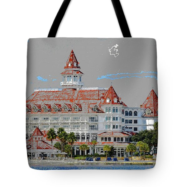 Grand Floridian In Summer Tote Bag