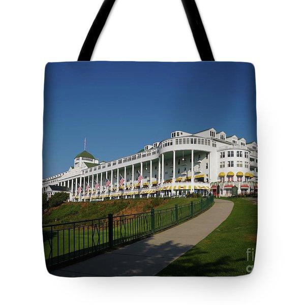 Grand Hotel Mackinac Island 2 Tote Bag
