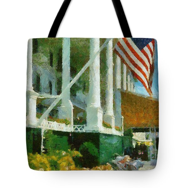 Grand Hotel Mackinac Island Tote Bag