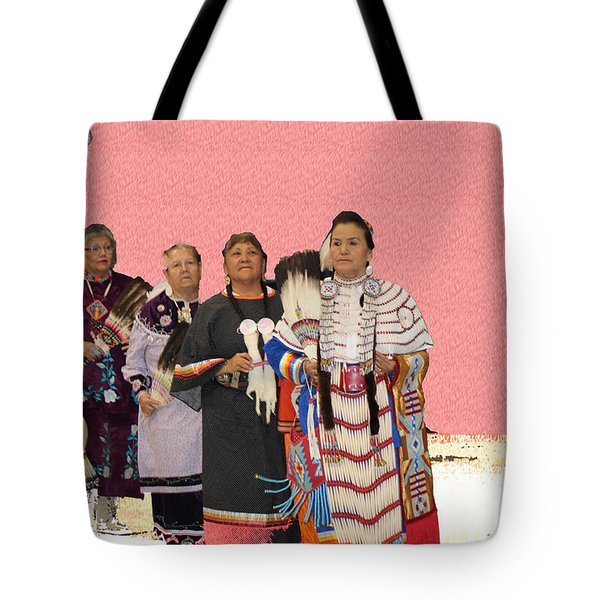 Grand Ladies Enter Tote Bag by Audrey Robillard