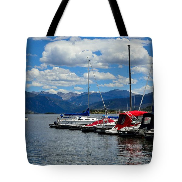 Grand Lake And Indian Peaks Wilderness Tote Bag