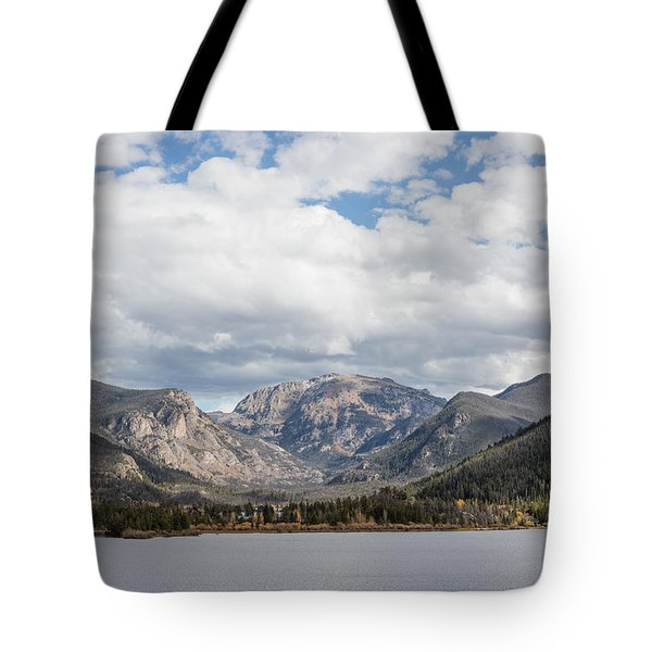Grand Lake -- Largest Body Of Water In Colorado Tote Bag by Carol M Highsmith