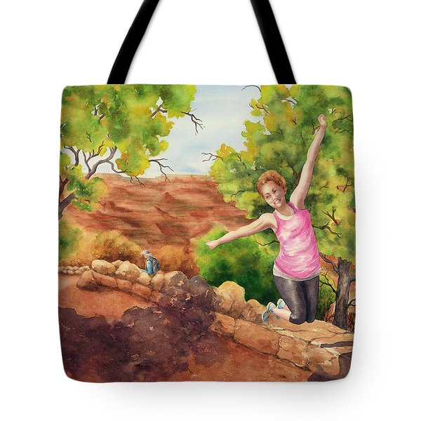Grand Leap Tote Bag