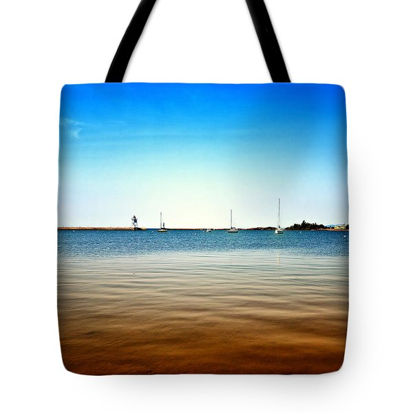 Grand Marais Harbor Tote Bag