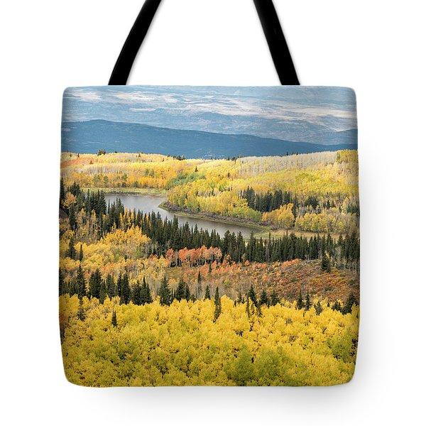 Grand Mesa View Tote Bag