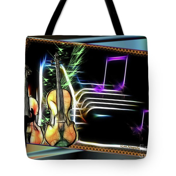 Grand Musicology Tote Bag