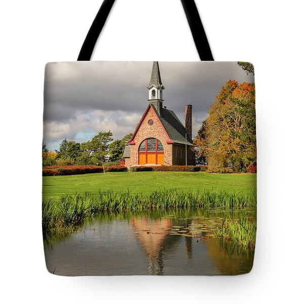 Grand-pre National Historic Site 01 Tote Bag by Ken Morris