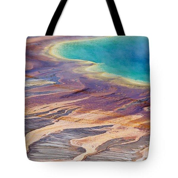 Grand Prismatic Spring 2 Tote Bag