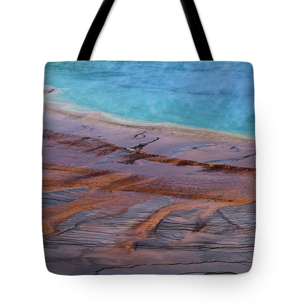 Grand Prismatic Spring Detail Tote Bag