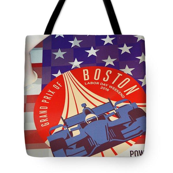 Grand Prix Of Boston Tote Bag