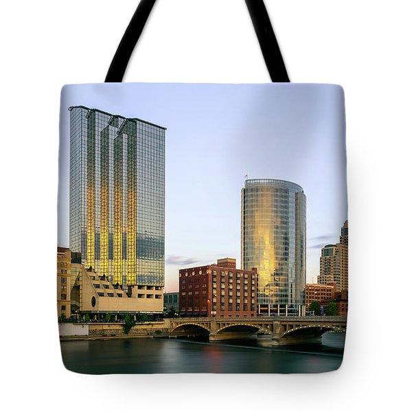 Grand Rapids Sunset Tote Bag