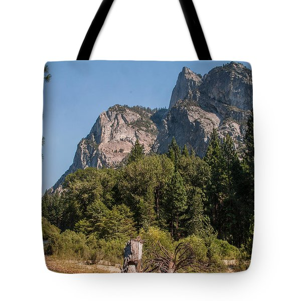 Grand Sentinel Zumalt Meadow Kings Canyon National Park Tote Bag