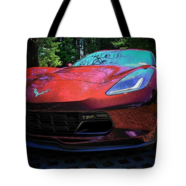 Grand Sport 2017 Frontal Tote Bag