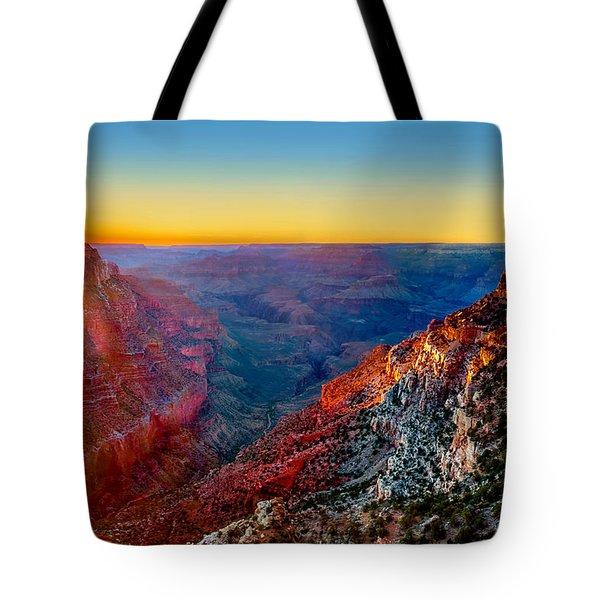 Grand Sunset Tote Bag
