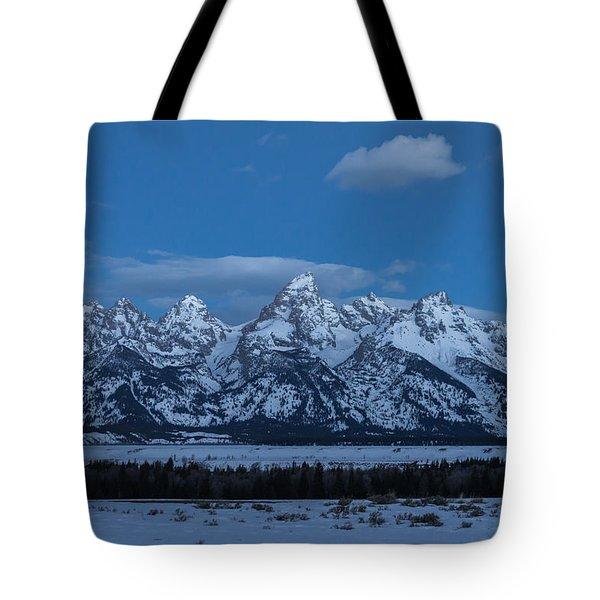Grand Teton National Park Sunrise Tote Bag