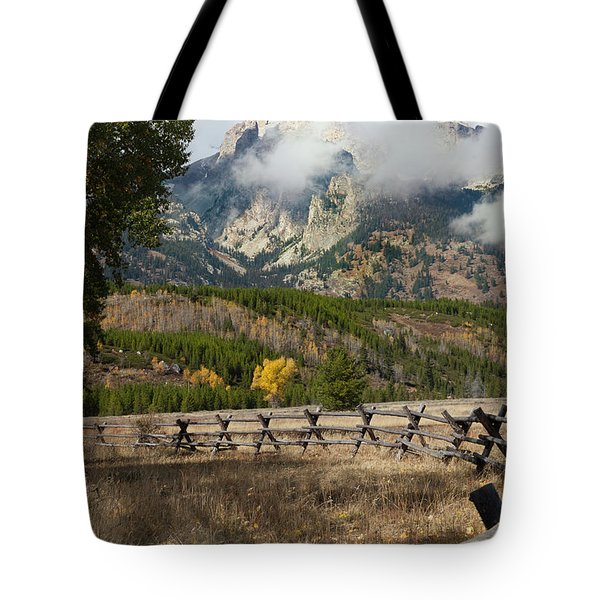 Grand Teton National Park, Wyoming Tote Bag