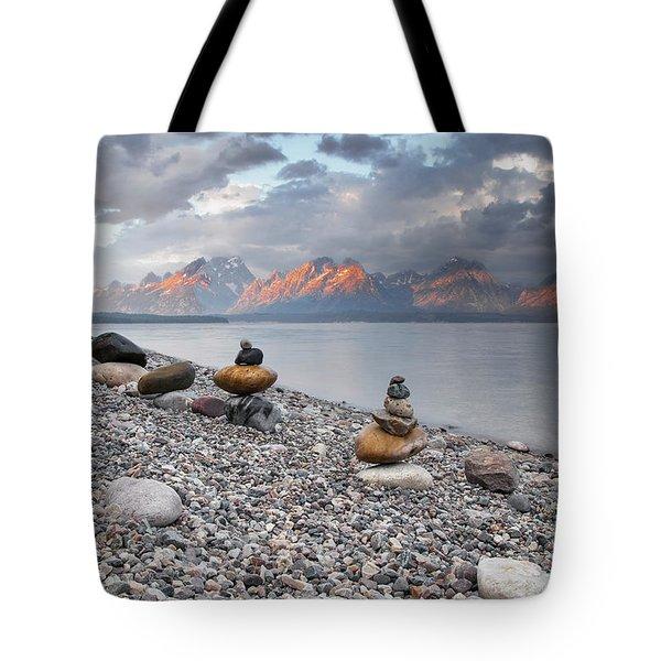 Grand Teton National Park - Zen Tote Bag