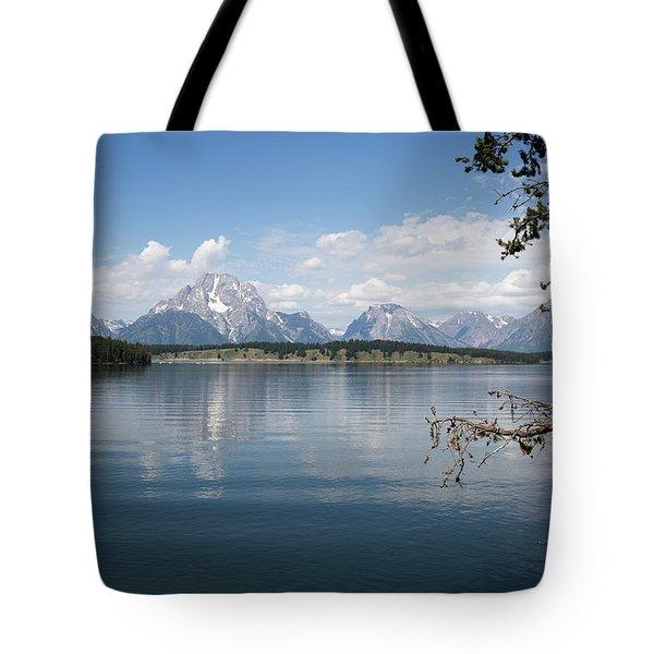 Grand Teton Range Tote Bag