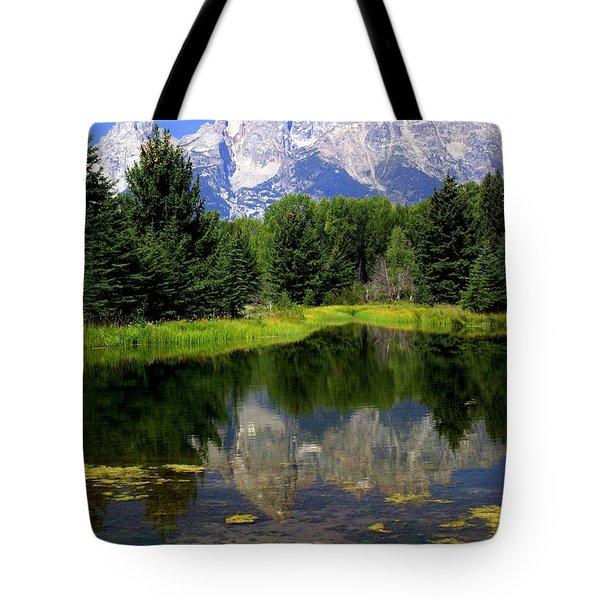 Grand Tetons 2 Tote Bag by Marty Koch