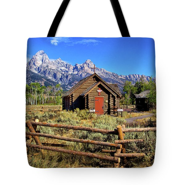 Grand Tetons Chapel Tote Bag