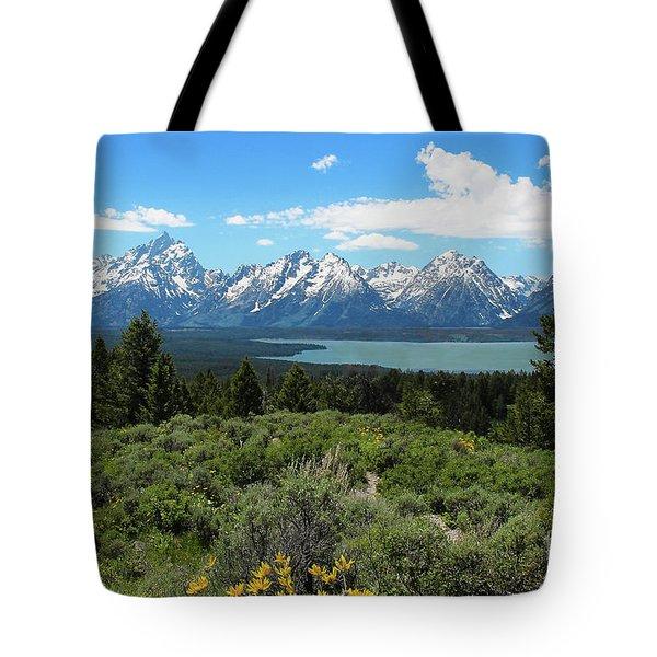 Grand Tetons Tote Bag