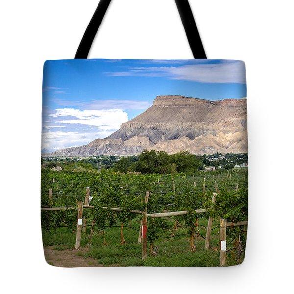 Grand Valley Vineyards Tote Bag